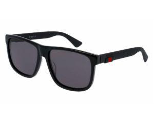 gucci occhiali da sole GG 0010S 001